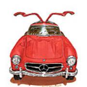 1955 Mercedes Benz 300 S L  Art Print