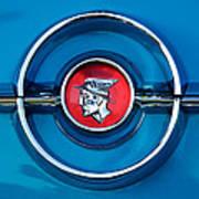 1955 Mercury Monterey  Emblem Art Print