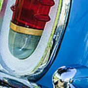 1955 Mercury Monterey Taillight Art Print