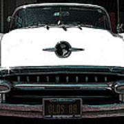 1955 Oldsmobile 88 Art Print
