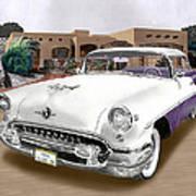 1955 Oldsmobile Super 88 Art Print