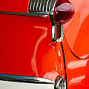 1955 Oldsmobile Taillight Art Print by Jill Reger