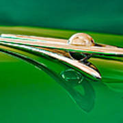 1955 Packard Clipper Hood Ornament 3 Art Print