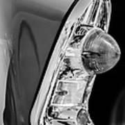 1956 Chevrolet 210 2-door Handyman Wagon Taillight -090bw Art Print