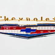 1956 Chevrolet 210 Emblem Art Print