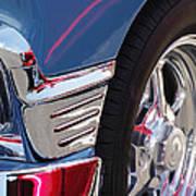 1956 Chevrolet Handyman Wagon Wheel -179c Art Print
