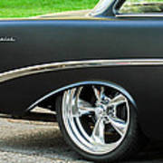 1956 Chevrolet Rear Emblem Art Print