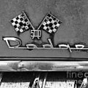 1956 Chevy 500 Series Photo 8 Art Print by Anna Villarreal Garbis