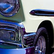 1956 Chevy Bel Air Custom Hot Rod Art Print by David Patterson