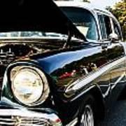 1956 Chevy Bel Air Down The Side Art Print
