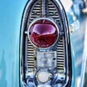 1956 Chevy Bel-air Taillight  Art Print
