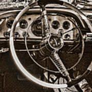 1956 Desoto Dash Art Print