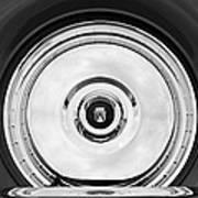 1956 Ford Thunderbird Spare Tire Emblem Art Print
