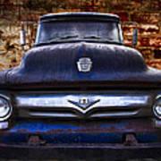1956 Ford V8 Art Print