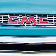 1956 Gmc 100 Deluxe Edition Pickup Truck Art Print