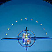 1956 Lincoln Continental Mark II Emblem Art Print