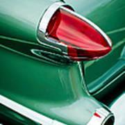 1956 Oldsmobile 98 Taillight Art Print