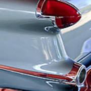 1956 Oldsmobile Taillight Art Print