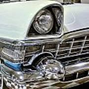 1956 Packard Caribbean Grill Art Print