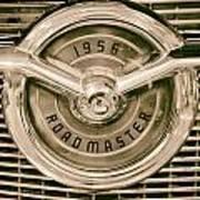 1956 Roadmaster Art Print