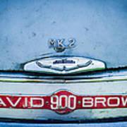 1957 Aston Martin Db2-4 Mark IIi Emblem Art Print