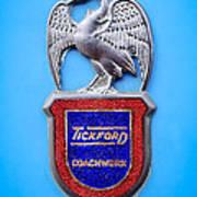 1957 Aston Martin Mk IIi Prototype - Tickford Coachwork Emblem Art Print