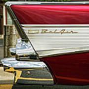 1957 Chevrolet Bel Air Art Print