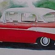 1957 Chevy Art Print