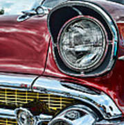 1957 Chevy - My Classic Car Art Print