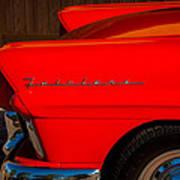 1957 Ford Fairlane Emblem -359c Art Print