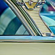 1957 Mercury Monterey Sedan Emblem Art Print