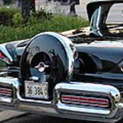 1957 Mercury Turnpike Rear End Art Print