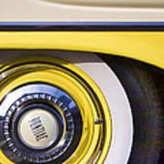 1957 Pontiac Starchief Wheel Cover Art Print