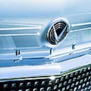 1958 Buick Roadmaster 75 Convertible Grille Emblem Art Print