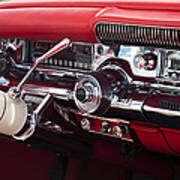 1958 Buick Special Dashboard Art Print