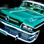 1958 Buick Special Art Print by Phil 'motography' Clark