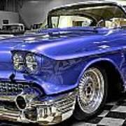 1958 Cadillac Deville Art Print