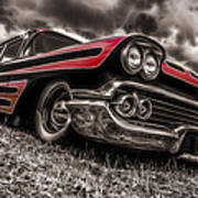 1958 Chev Biscayne Art Print by motography aka Phil Clark