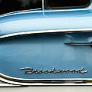 1958 Chevrolet Brookwood Station Wagon Art Print