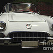 1958 Chevrolet Corvette Art Print