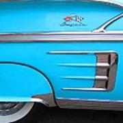 1958 Chevrolet Impala Art Print