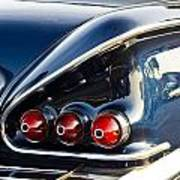 1958 Chevy Impala Tail Lights Art Print