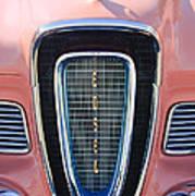 1958 Edsel Pacer Grille Emblem Art Print