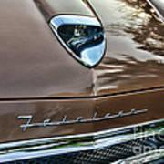 1958 Ford Fairlane 500 Skyliner Art Print