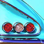 1958 Impala Palm Springs Art Print