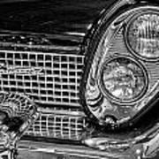 1958 Lincoln Continental Headlight Art Print