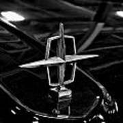 1958 Lincoln Continental Hood Ornament Art Print