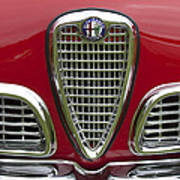 1959 Alfa Romeo Giulietta Sprint Grille Art Print