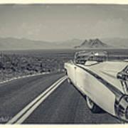 1959 Cadillac Eldorado Convertible Ambrotype Art Print