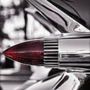 1959 Cadillac Eldorado Tailight Art Print